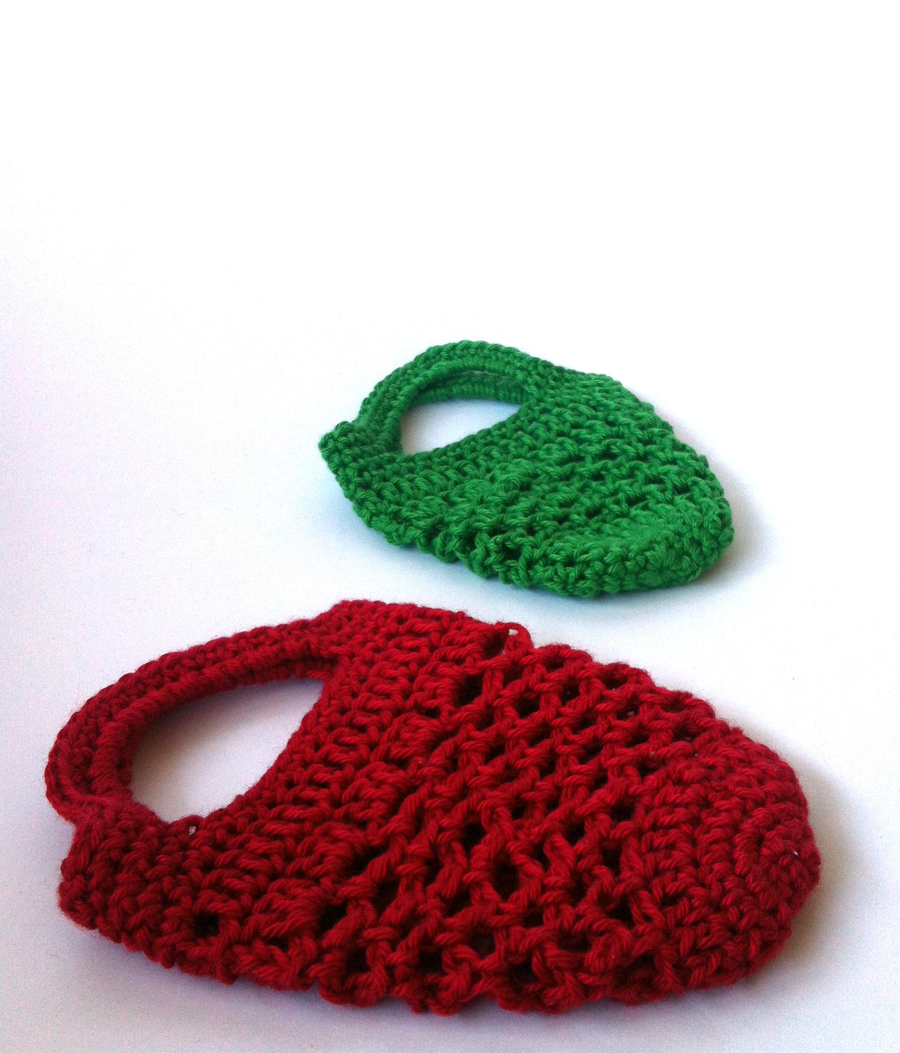 Mini crochet gift bag free pattern spincushions flat bags bankloansurffo Gallery