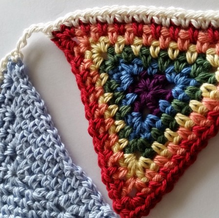 Crochet Bunting Pattern Spincushions