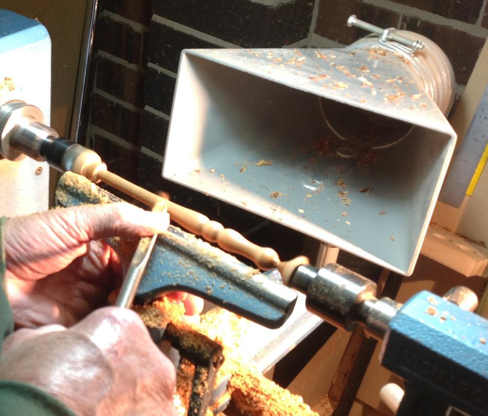 how to make wooden crochet hooks