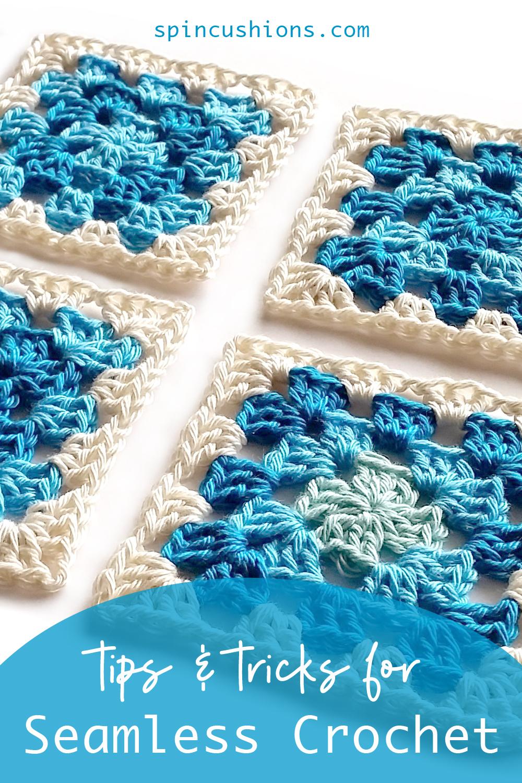 Seamless crochet tips by Shelley Husband