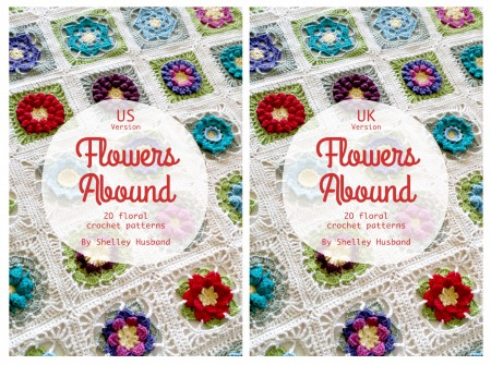Flowers Abound both covers by shelley Husband