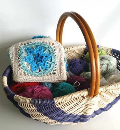 basket of yarn Shelley Husband 2015