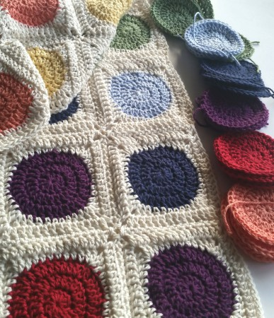 Squaring The Circle Crochet Pattern Tutorial Spincushions