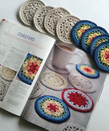 Coasters Free Crochet Pattern Spincushions