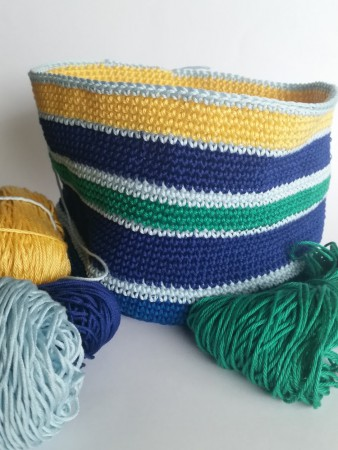 Stripy bag by Shelley Husband
