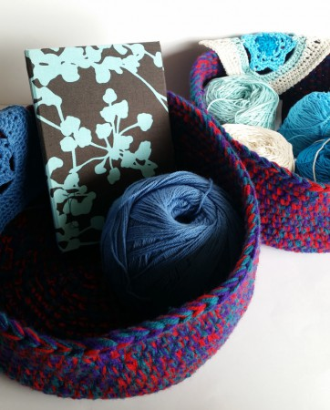 Baskets for the design challenge by Shelley Husband