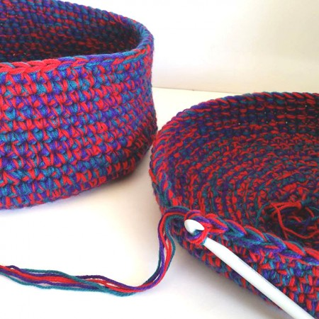 baskets in progress tutorial by Shelley Husband