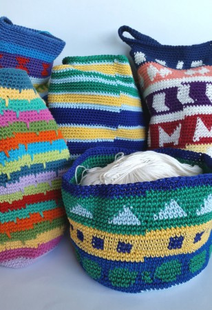 Crochet Bags Tutorial Spincushions