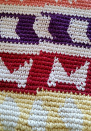 tapestry join crochet bag tutorial by Shelley Husband