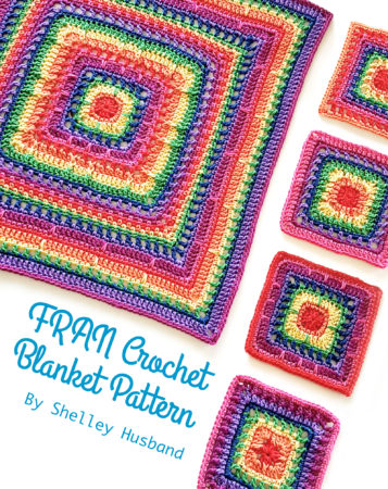 FRAN Crochet Blanket Pattern ebook by Shelley Husband