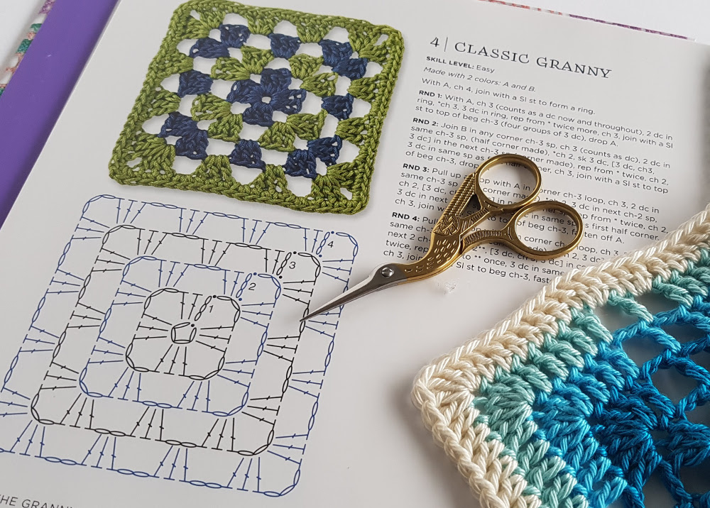 The Granny Square Book By Margaret Hubert Review Spincushions