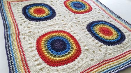 Kaboom Crochet Blanket by Shelley Husband 1