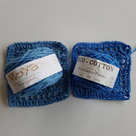 Cotton yarn test moya eco by Shelley Husband