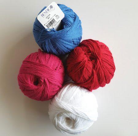 Cotton yarn test BWM by Shelley Husband