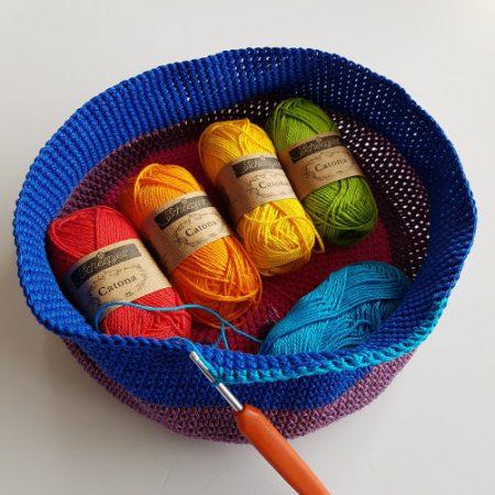Cotton yarn test catona by Shelley Husband
