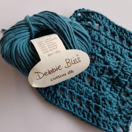 Cotton yarn test debbie bliss by Shelley Husband