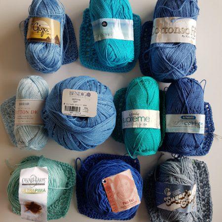 Cotton yarn test large ball size by Shelley Husband
