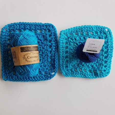 Cotton yarn test small ball size by Shelley Husband