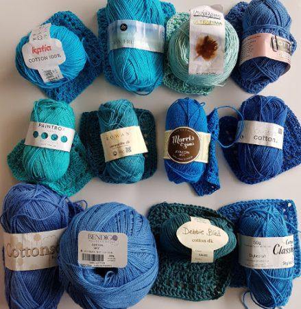 Cotton yarn test softness by Shelley Husband