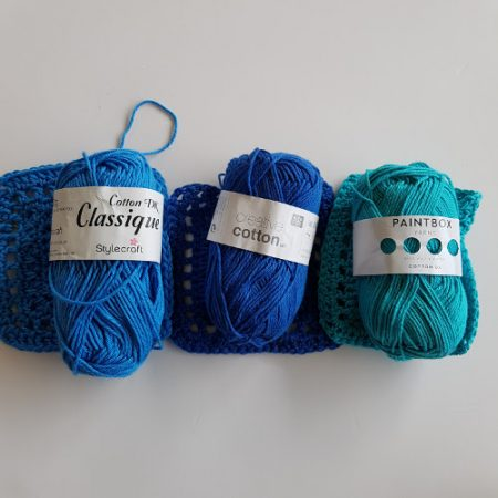 Cotton yarn test will use by Shelley Husband
