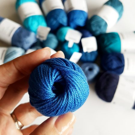 cotton yarn test yarn and colours must haves by Shelley Husband