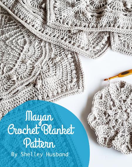 Mayan Crochet Blanket pattern by Shelley Husband