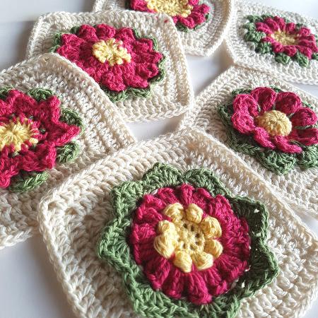 Yarn Mag flower CAL by Shelley Husband4