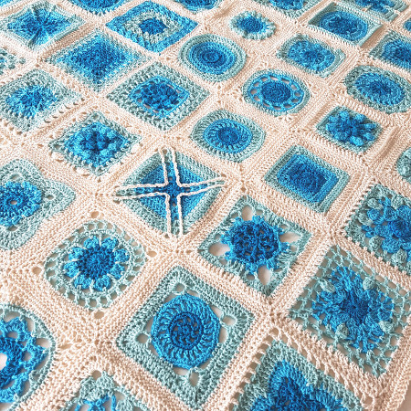 Cascade Siren's Atlas Blanket by Shelley Husband2