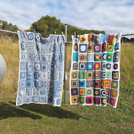 Siren's Atals blankets by Shelley Husband