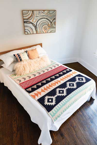 The Art of Crochet Blankets by Rachele Caroma