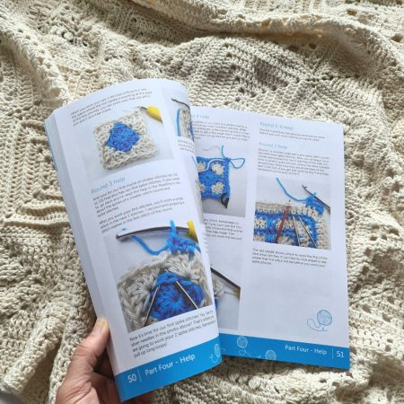 Inside Granny Square Academy book by Shelley Husband